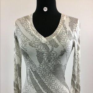 BCBGMaxazria Multi Gray Shirt Size XXS Size (B-93)